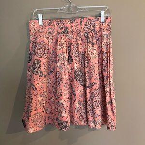 H&M Flower Skirt Size M Medium